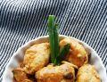 Roladki drobiowe z cukinią w sosie pieczarkowym