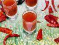 Russian Bloody Mary - shot z sokiem pomidorowym