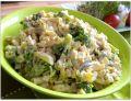 Sałatka z brokułem i fasolką