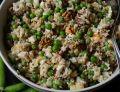 Sałatka z groszkiem i ryżem