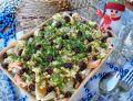 Sałatka z łososiem, zielonym grejpfrutem, kolendrą