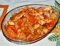 Śledzie w sosie pomidorowym z papryką i pestkami