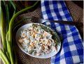 Surówka z selera i ogórków kiszonych