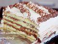 Tort czekoladowo waniliowy