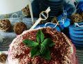Tort naleśnikowy z mascarpone i wiśniami