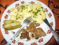 Wątróbka drobiowa z majerankiem i cebulką