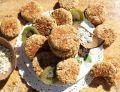 Wegańskie ciastka owsiano-słonecznikowe z kiwi