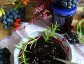 Winna galaretka z winogron