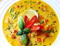 Zupa curry z mlekiem kokosowym i warzywami