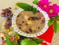Zupa fasolowa z makaronem arcobaleno