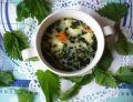 Zupa pokrzywowa z ziemniakami