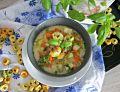 Zupa warzywna z tortellini o smaku szynki