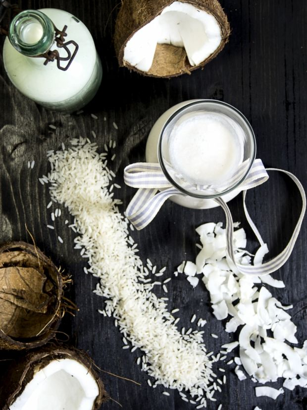 mleko kokosowe i ryżowe