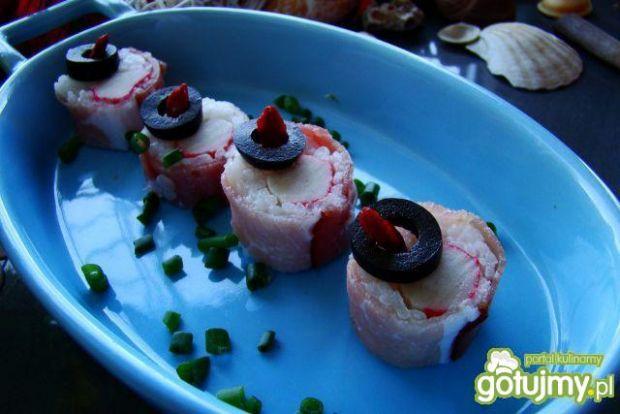 A la sushi z paluszkami krabowymi