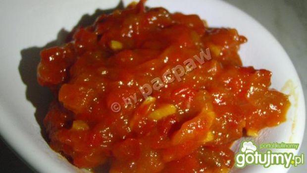 Ajwar czyli pasta paprykowo-bakłażanowa