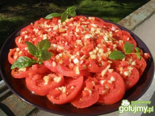 Amerykańska sałatka z pomidorów