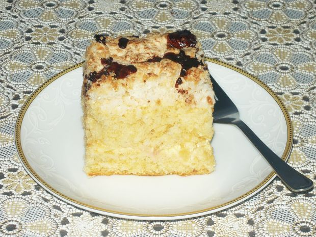 Ananasowo- kokosowe ciasto