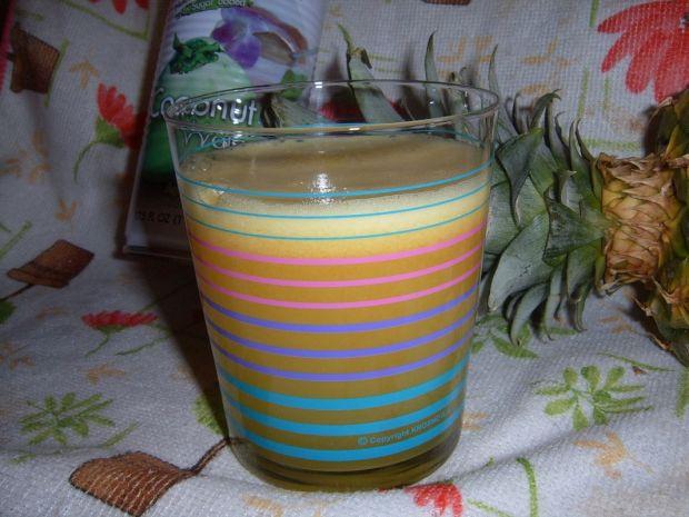 Ananasowo - kokosowy eliksir młodości