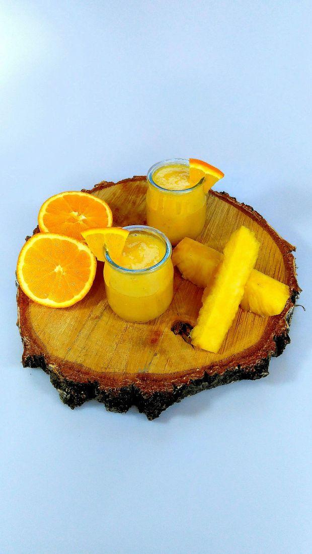 Ananasowy koktajl mocy