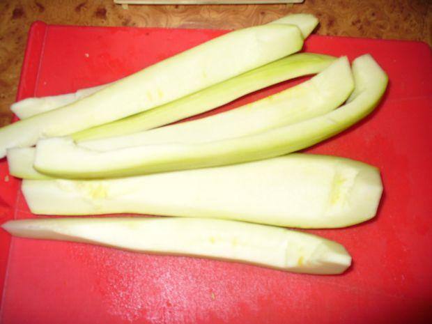Ananasy z cukinii wsłoikach