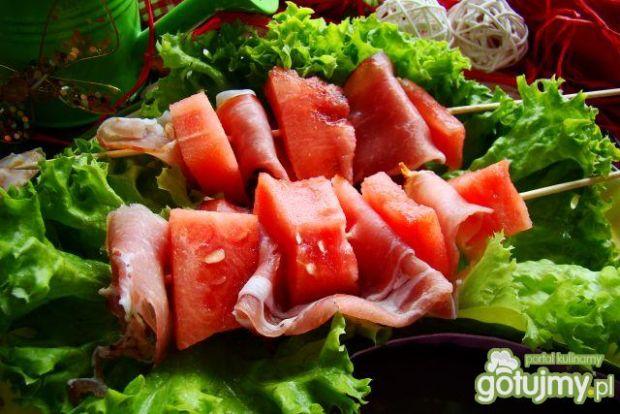 Arbuzowe szaszłyki