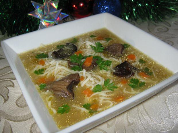 Aromatyczna zupa grzybowa