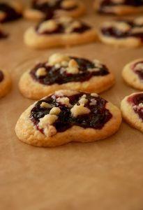 Aromatyczne ciasteczka z konfiturą