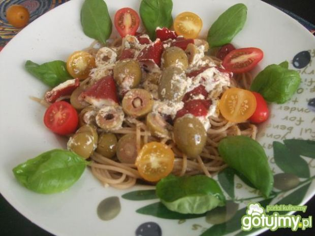 Aromatyczne spagetii...