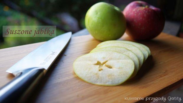 Aromatyczne suszone jabłka
