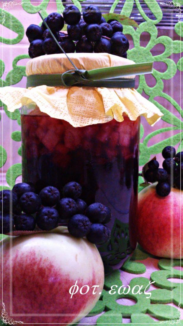 Aronia z jabłkiem na zimę