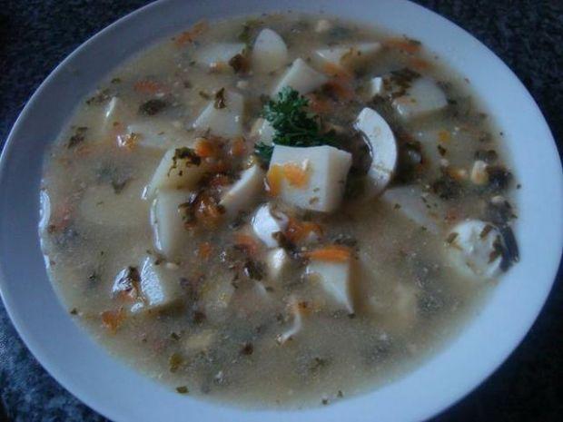Babcina zupa szczawiowa