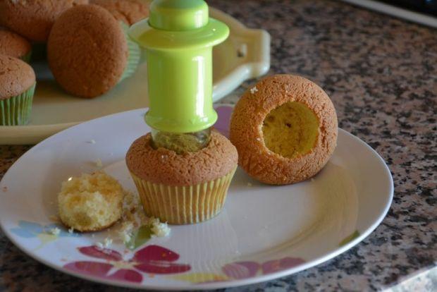 Babeczki mimoza na Dzień Kobiet