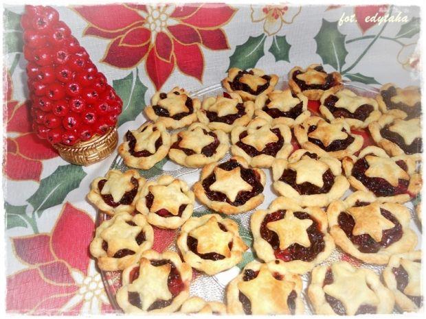 Babeczki mince pies Nigelli Lawson (mod kołczu) - Tradycyjne angielskie bożonarodzeniowe kruche babeczki z mincemeat.