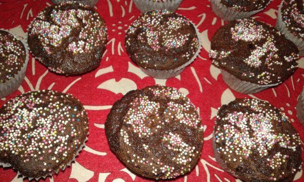 Babeczki piernikowe z czekoladą