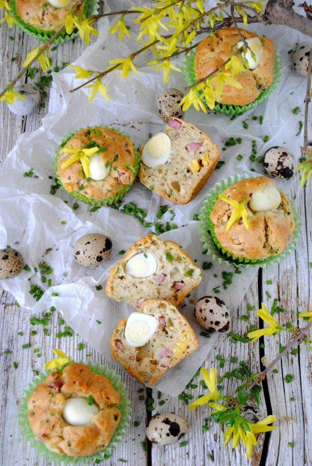 Babeczki z jajkiem przepiórczym