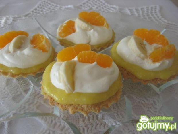 Babeczki z lemon curd i kremem mascarpon