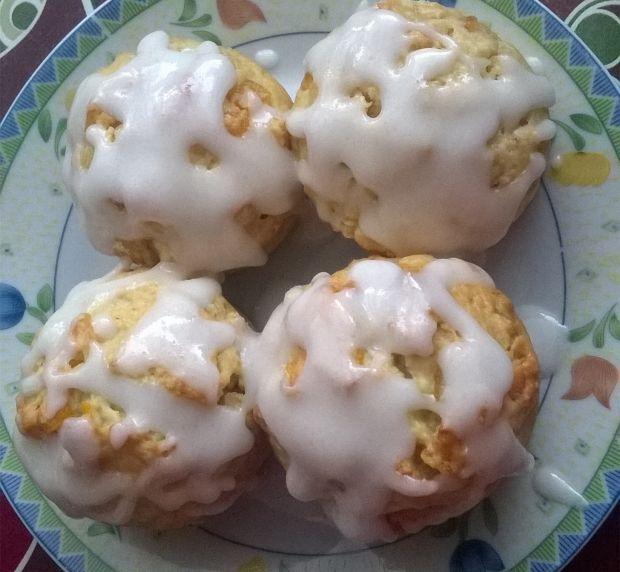 Babeczki z nutą pomarańczy