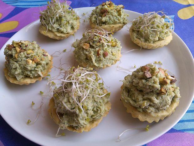 Babeczki z pastą brokułową