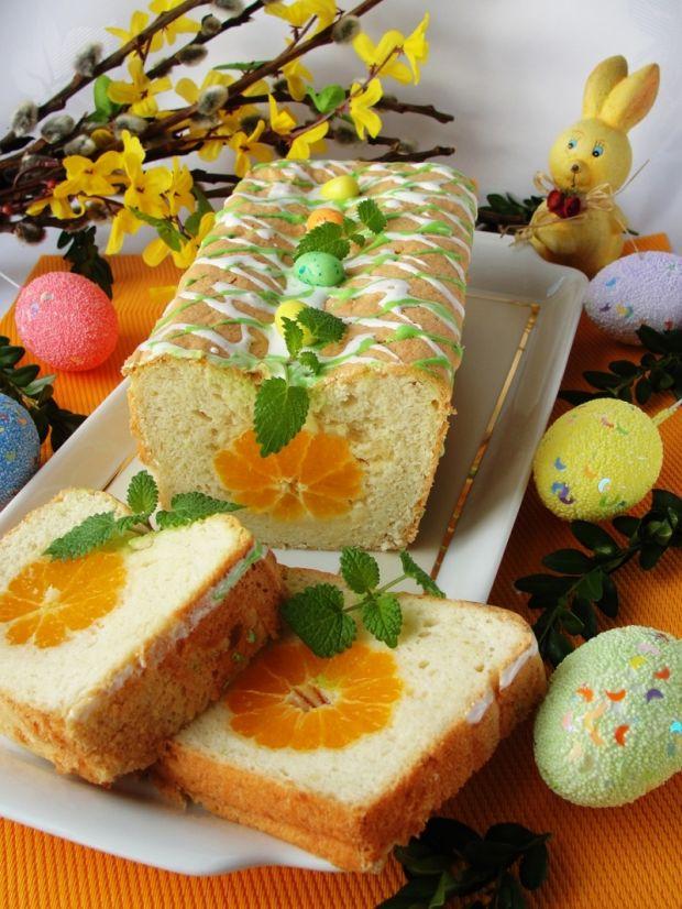 Babka białkowa - wielkanocne jajko