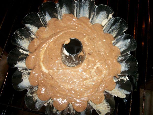 Babka czekoladowo- kokosowa z bananem wg Zub3ra