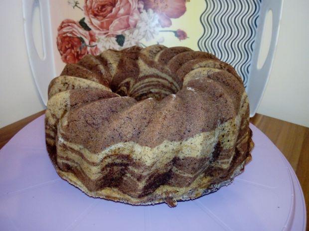 Babka gotowana orzechowo - kakaowa