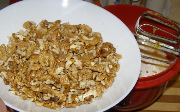 Babka orzechowo-kakaowa na oleju