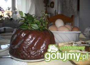 Babka w czekoladzie gorzkiej