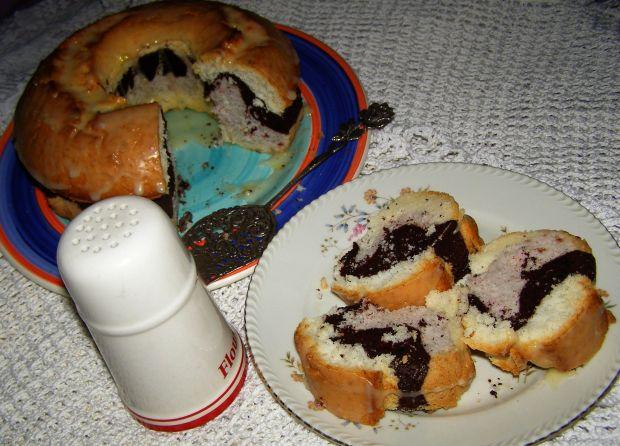 Babka z białek,łatwa, szybka i smaczna