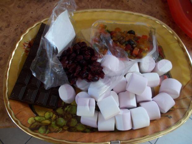 Bakaliowy blok z czekoladą