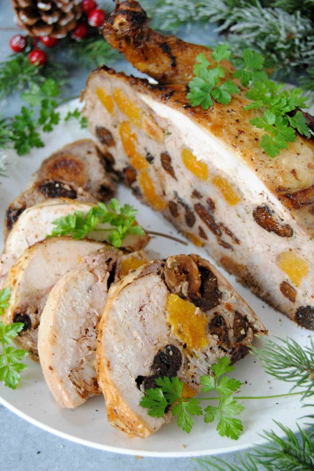 Bakaliowy kurczak