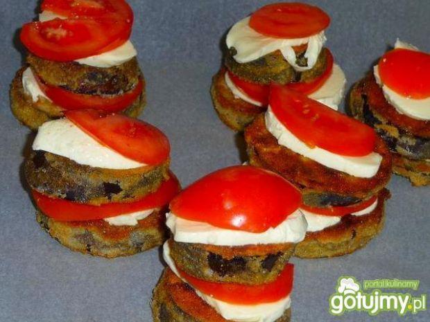 Bakłażan w sosie pomidorowym z balsamico