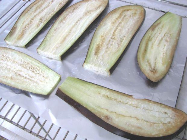Bakłażany zapiekane z pomidorami wg Pascala