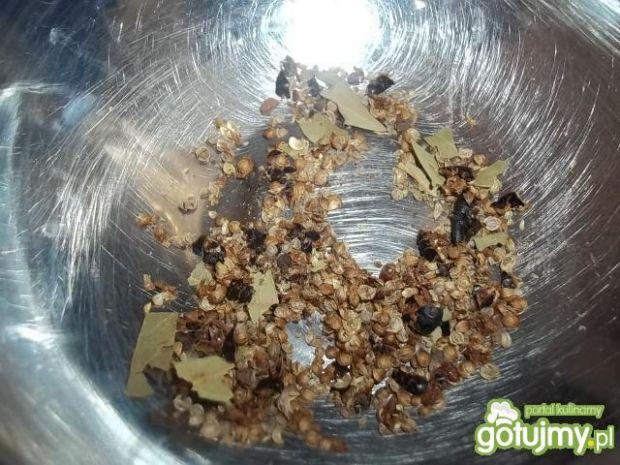 Balsamiczna szynka z miodem i cynamonem
