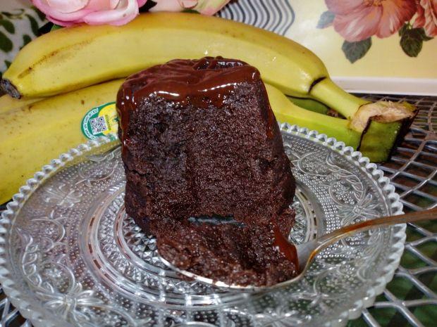 Bananowa babeczka z kubeczka
